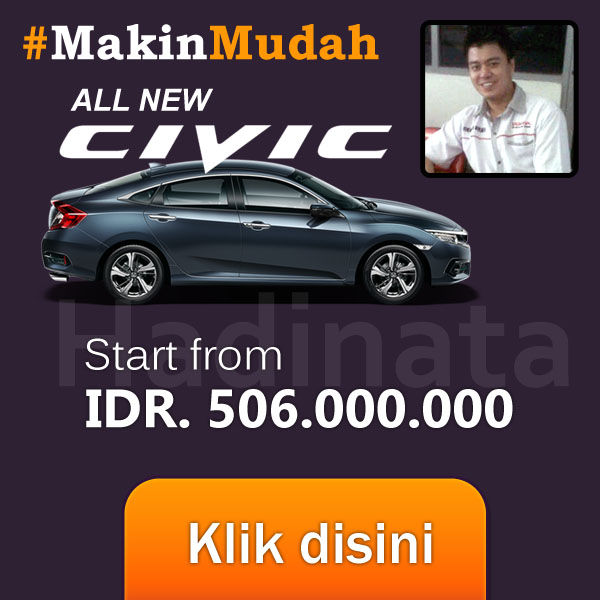 HARGA HONDA PALEMBANG CIVIC SEDAN TURBO SALES HADINATA