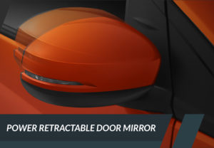 Power Retractable Door Mirror with LED Turning Signal (RS)