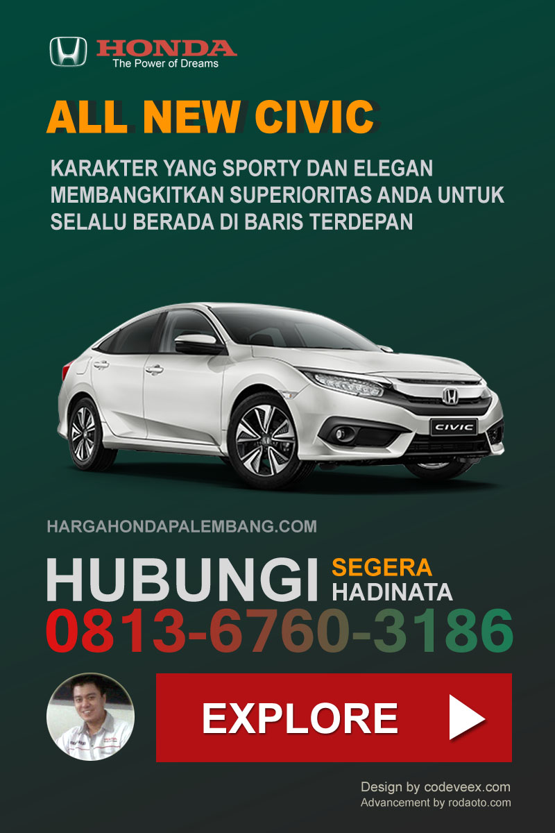 CIVIC SEDAN HONDA PALEMBANG
