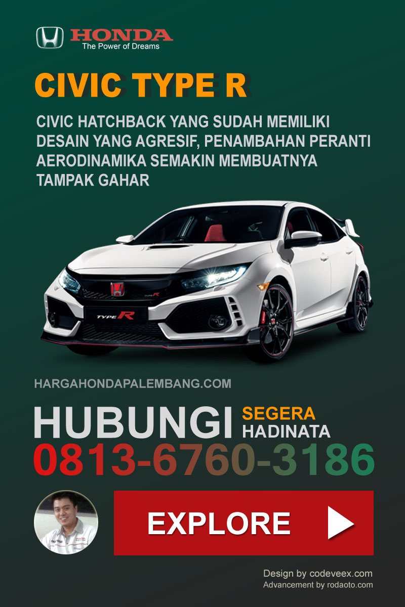 CIVIC TYPE R HONDA PALEMBANG