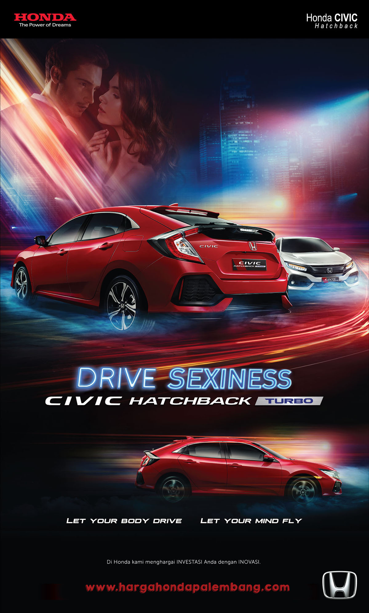 DRIVE SEXINESS CIVIC HATCHBACK